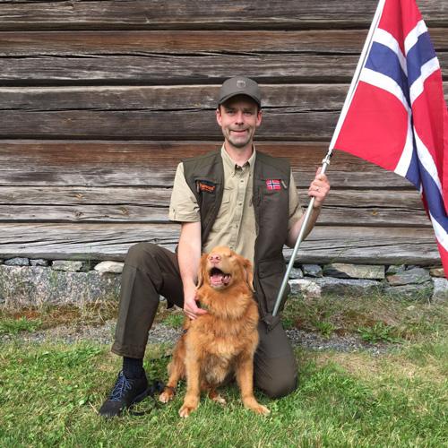 Remus Och Henrik På Nordiskt Lagmesterskapet I Viltspor I Finland!